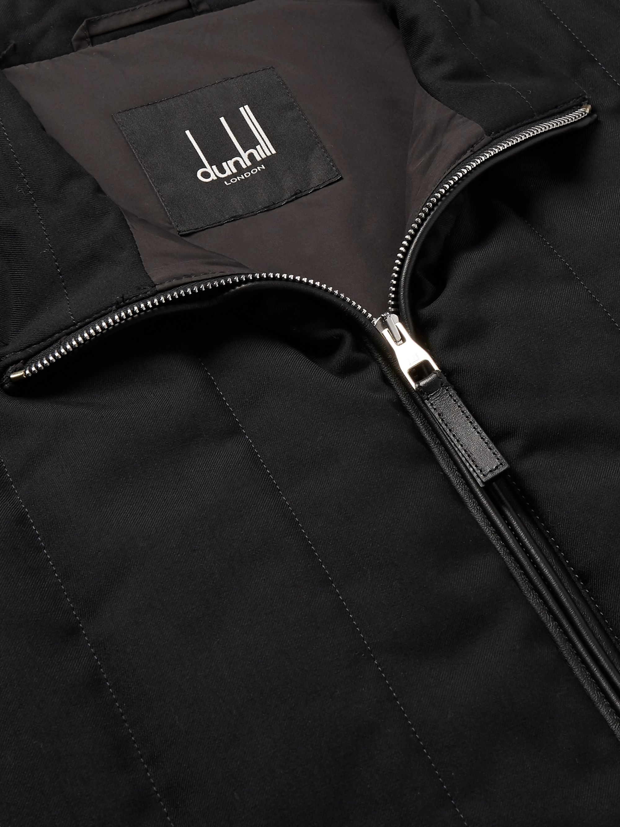 Dunhill Quilted Cashmere Gilet