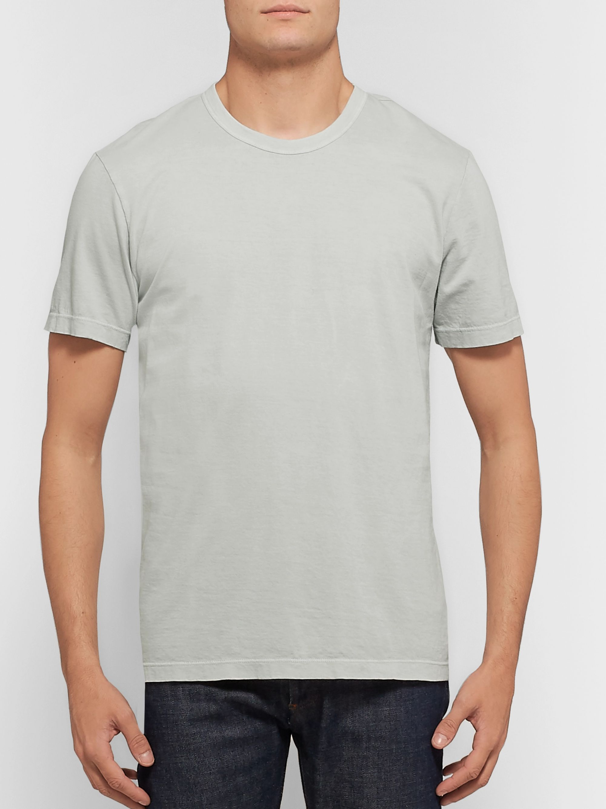Combed Cotton Jersey T Shirt
