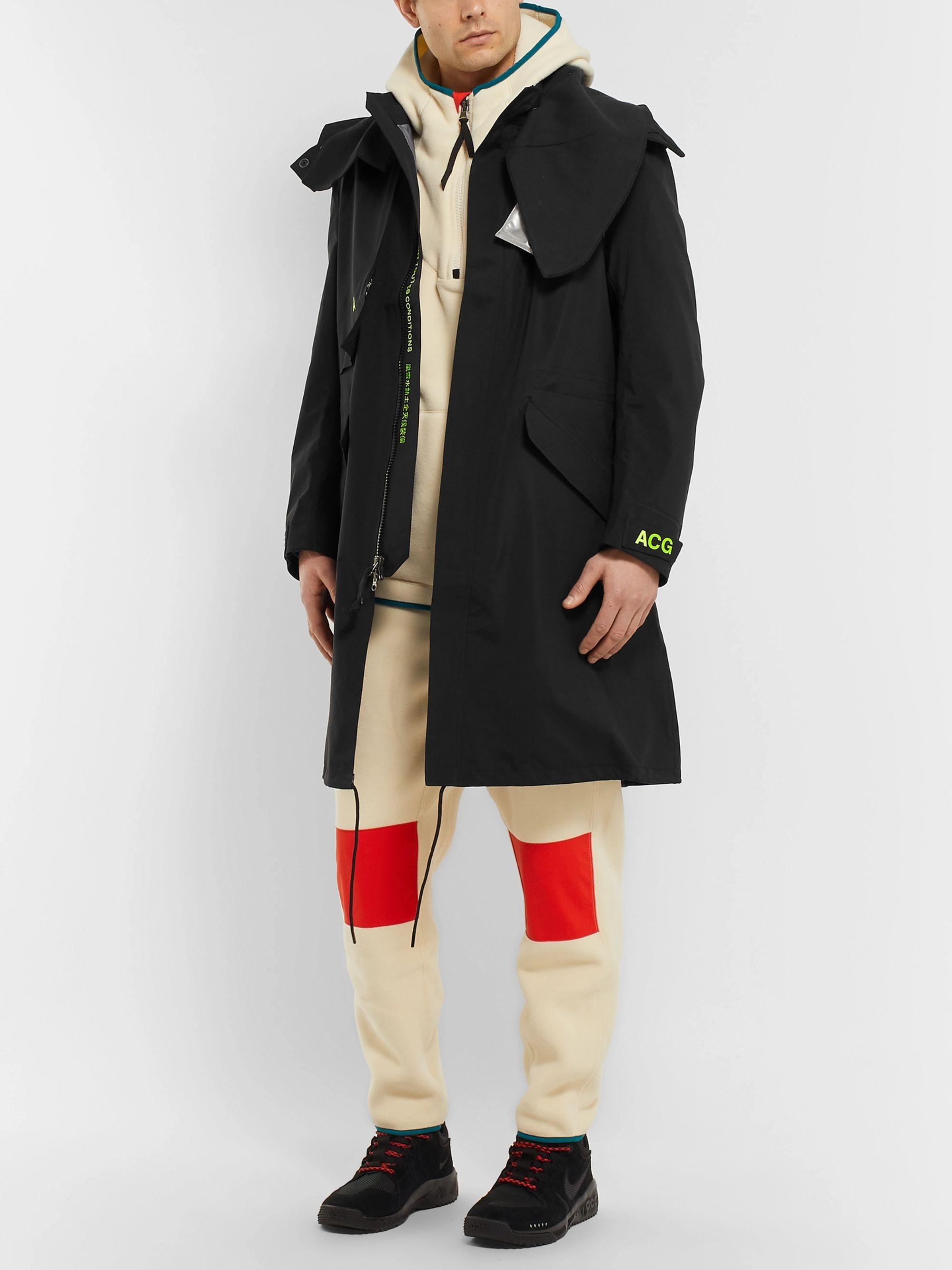 nike acg trench coat