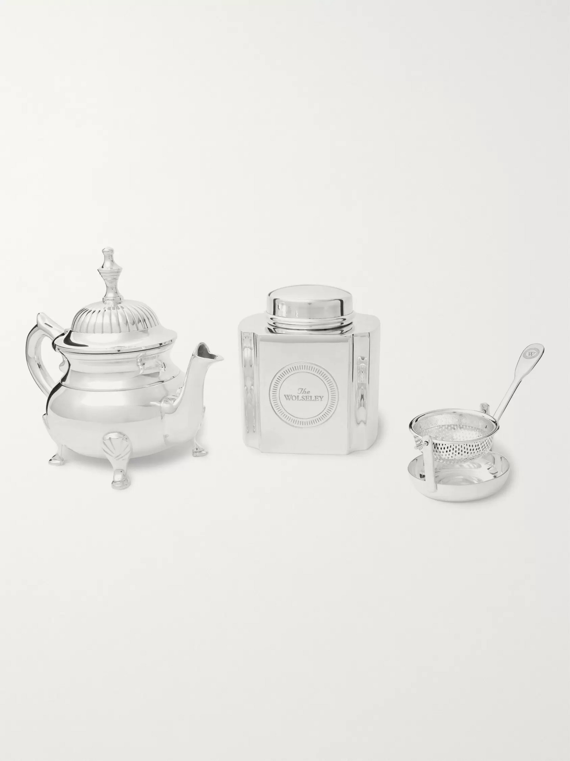 The Wolseley Collection Silver-Plated Tea Set