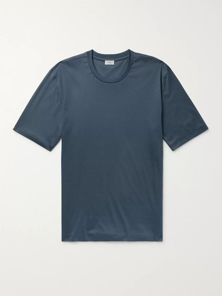 Zimmerli Sea Island Cotton-Jersey T-Shirt