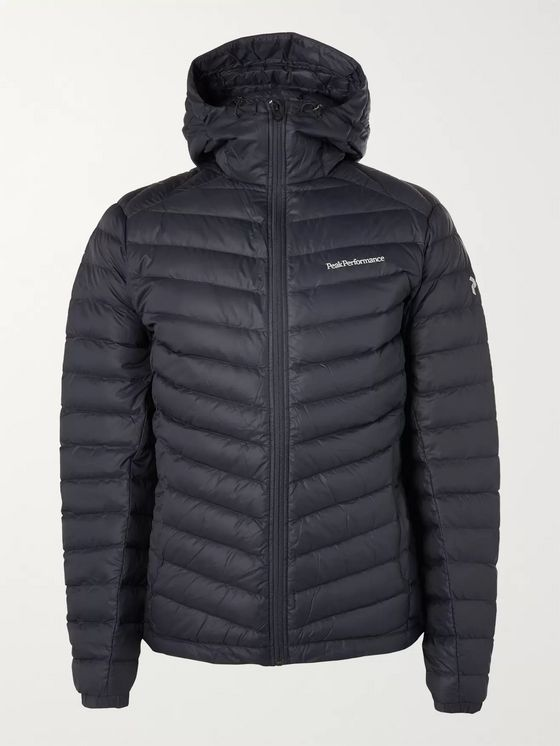Peak Performance Frost Quilted Hooded Down Jacket