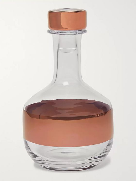 TOM DIXON Tank Painted Glass Decanter