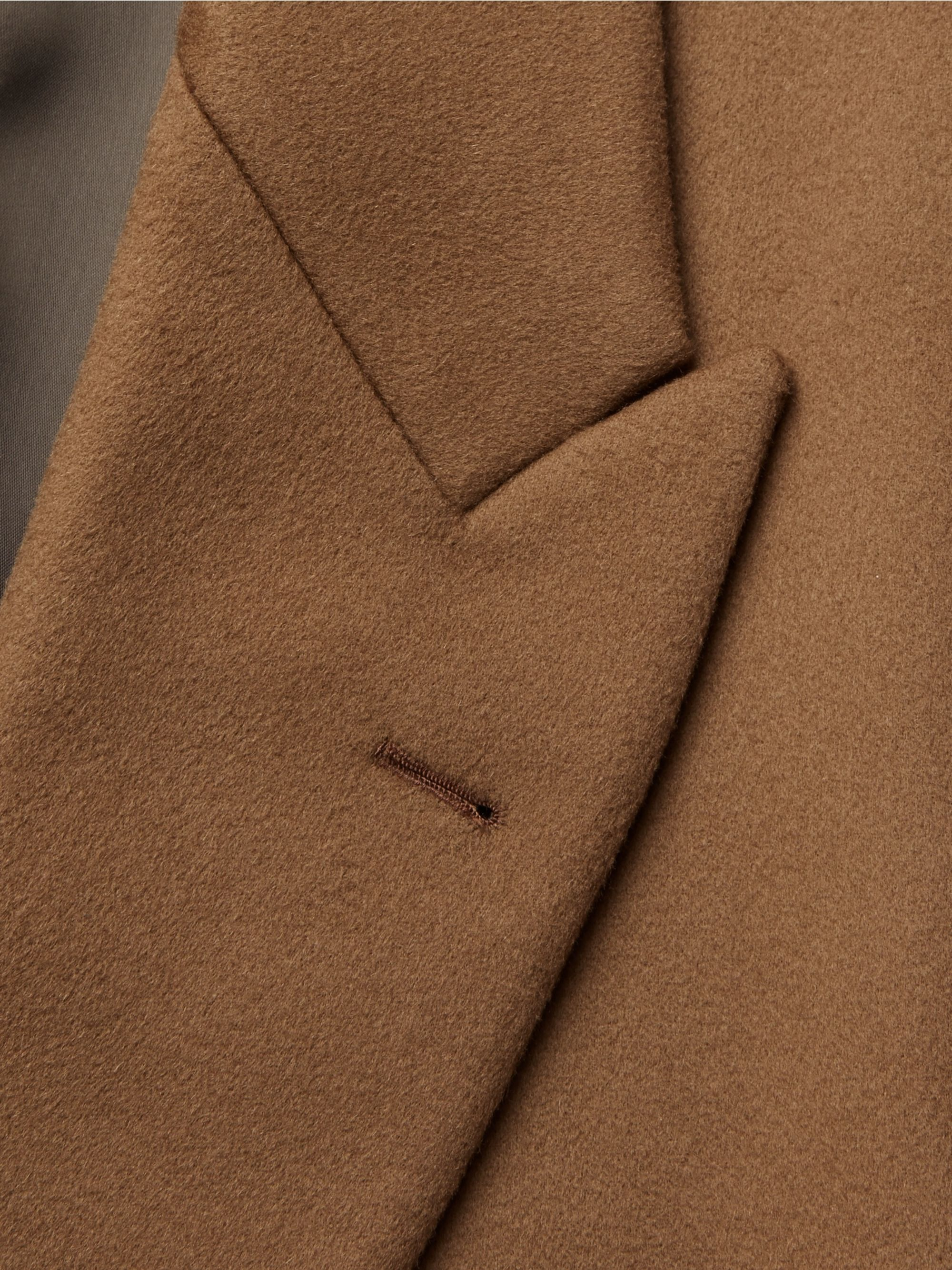 The Row Mickey Double-Breasted Super 180s Wool Coat