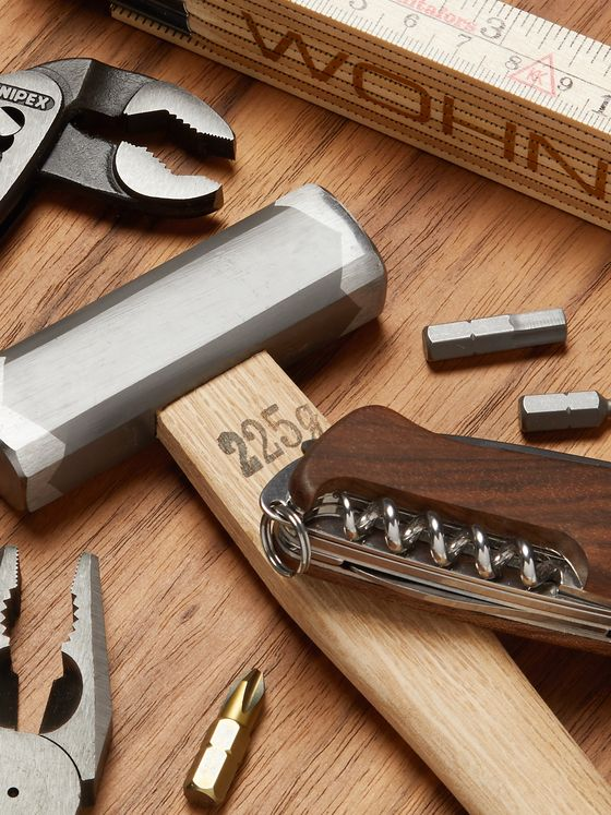 WohnGeist 7-Piece Tool Kit In Wood Case