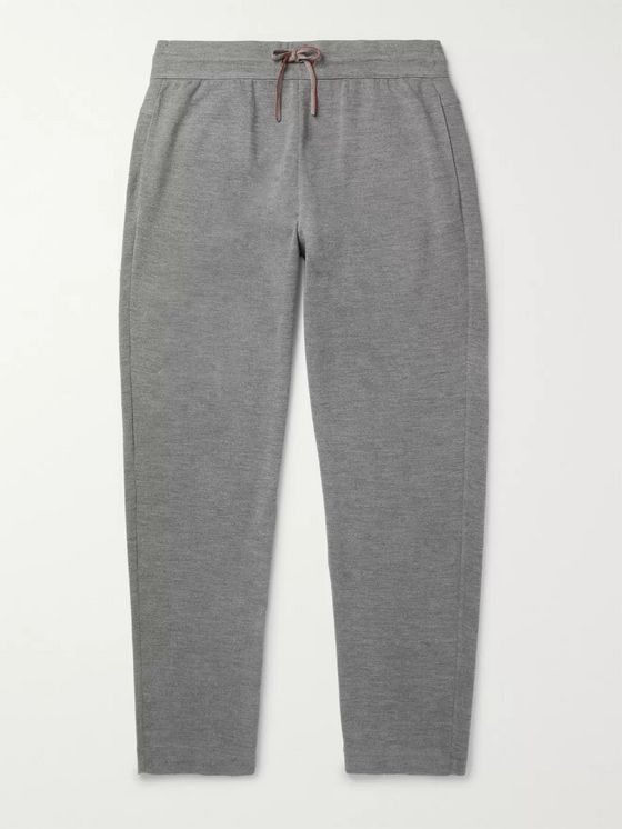 LORO PIANA Virgin Wool Sweatpants