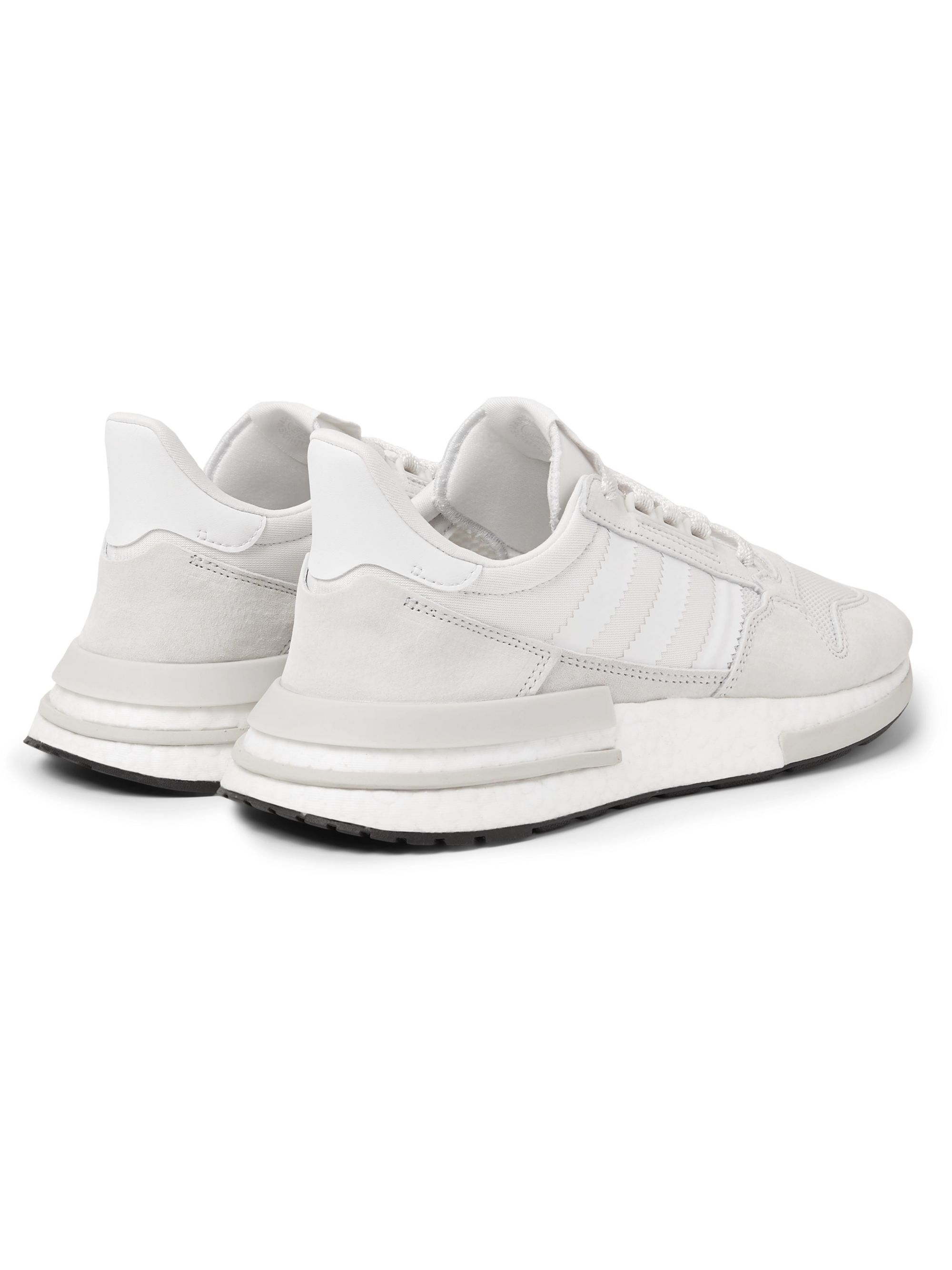 ZX 500 RM Suede, Mesh and Leather Sneakers