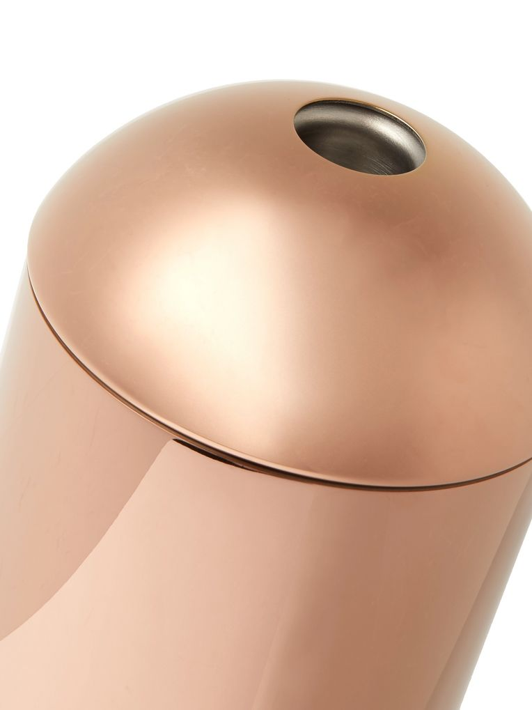 Tom Dixon Brew Copper-Plated Coffee Caddy