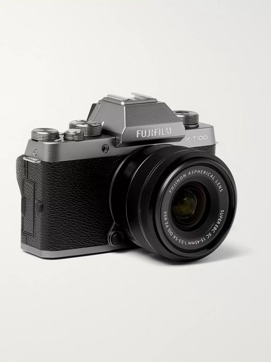 Fujifilm X-T100 Camera With XC15-45mm Lens