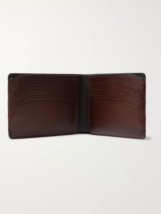 Berluti Quilted Leather Billfold Wallet
