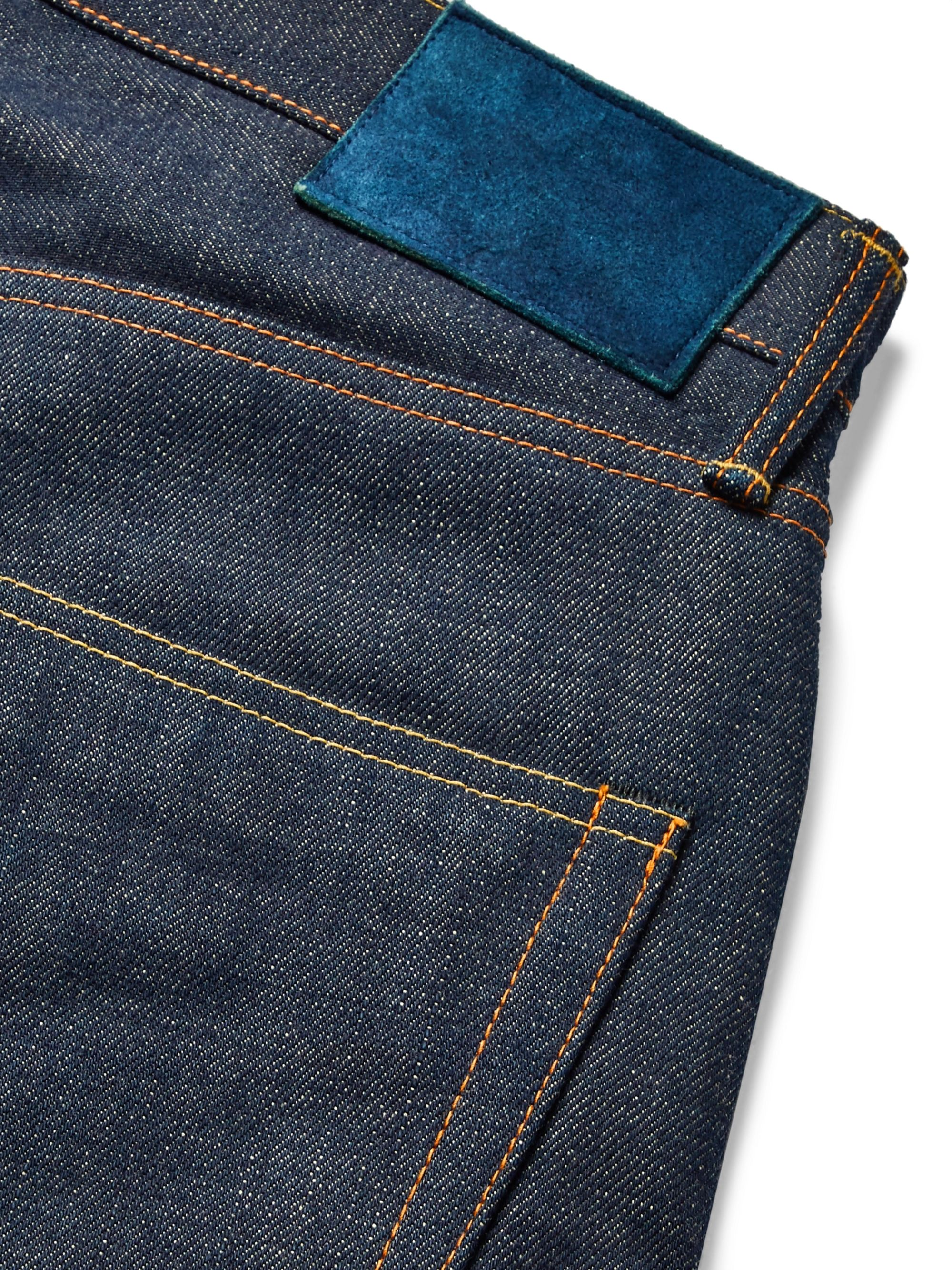 visvim Social Sculpture 01 Slim-Fit Raw Selvedge Denim Jeans