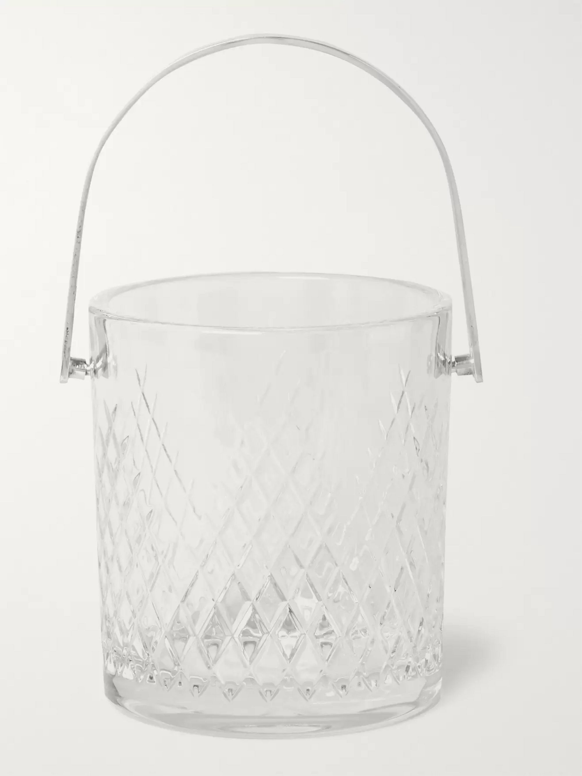 Soho Home Barwell Cut Crystal Ice Bucket