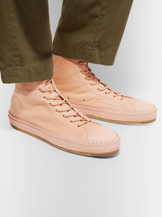 Hender Scheme MIP-19 Leather High-Top Sneakers