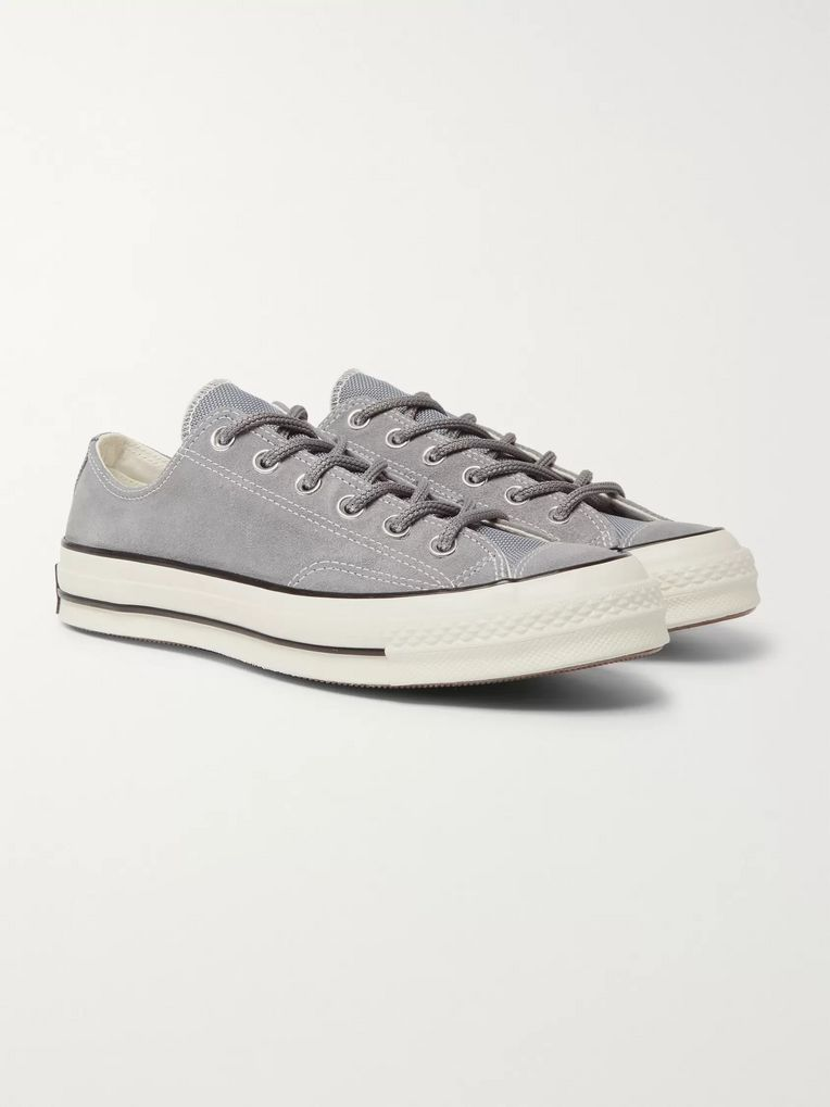 Converse Chuck 70 OX Suede Sneakers