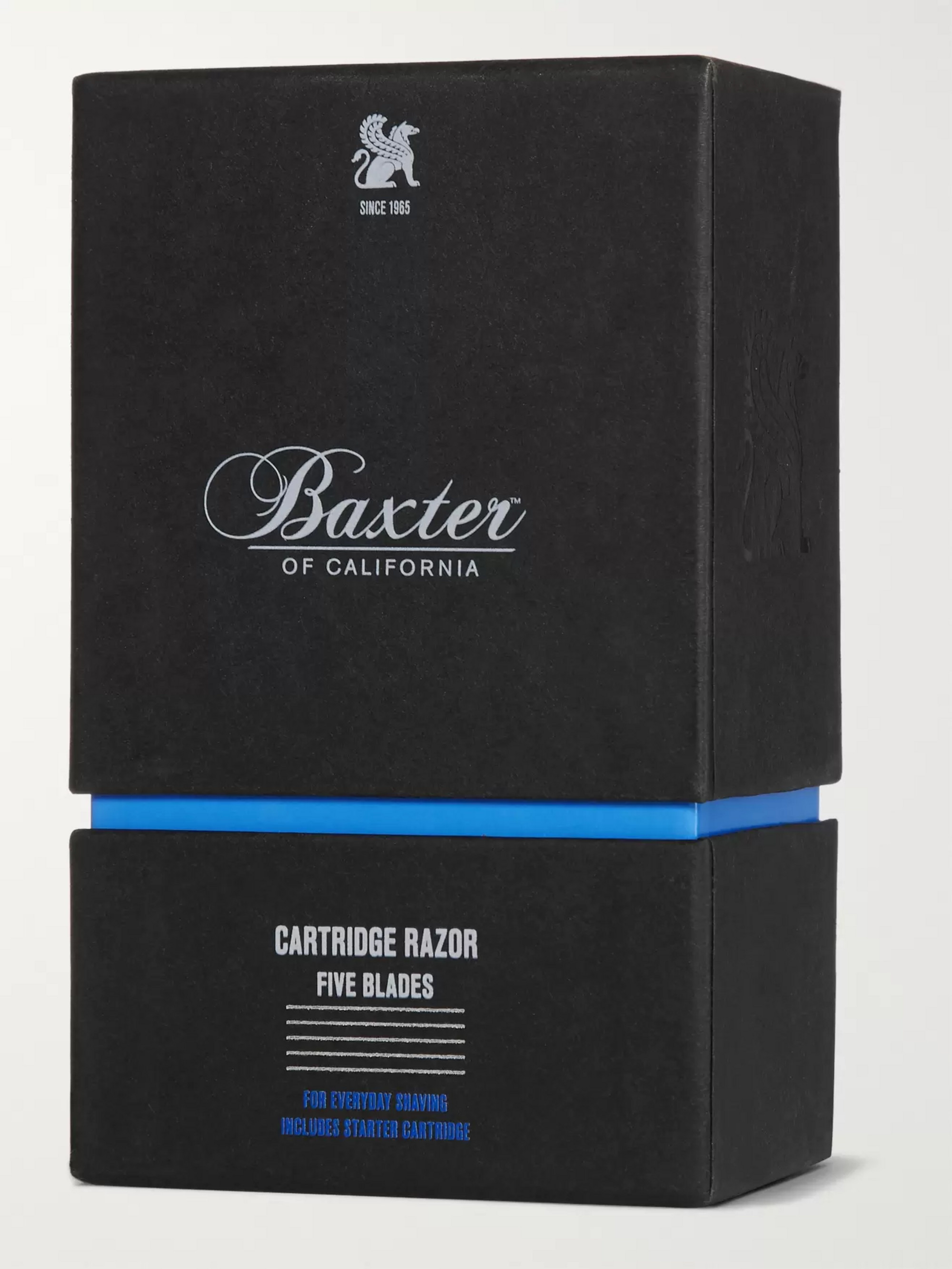 Baxter of California Five-Blade Cartridge Razor