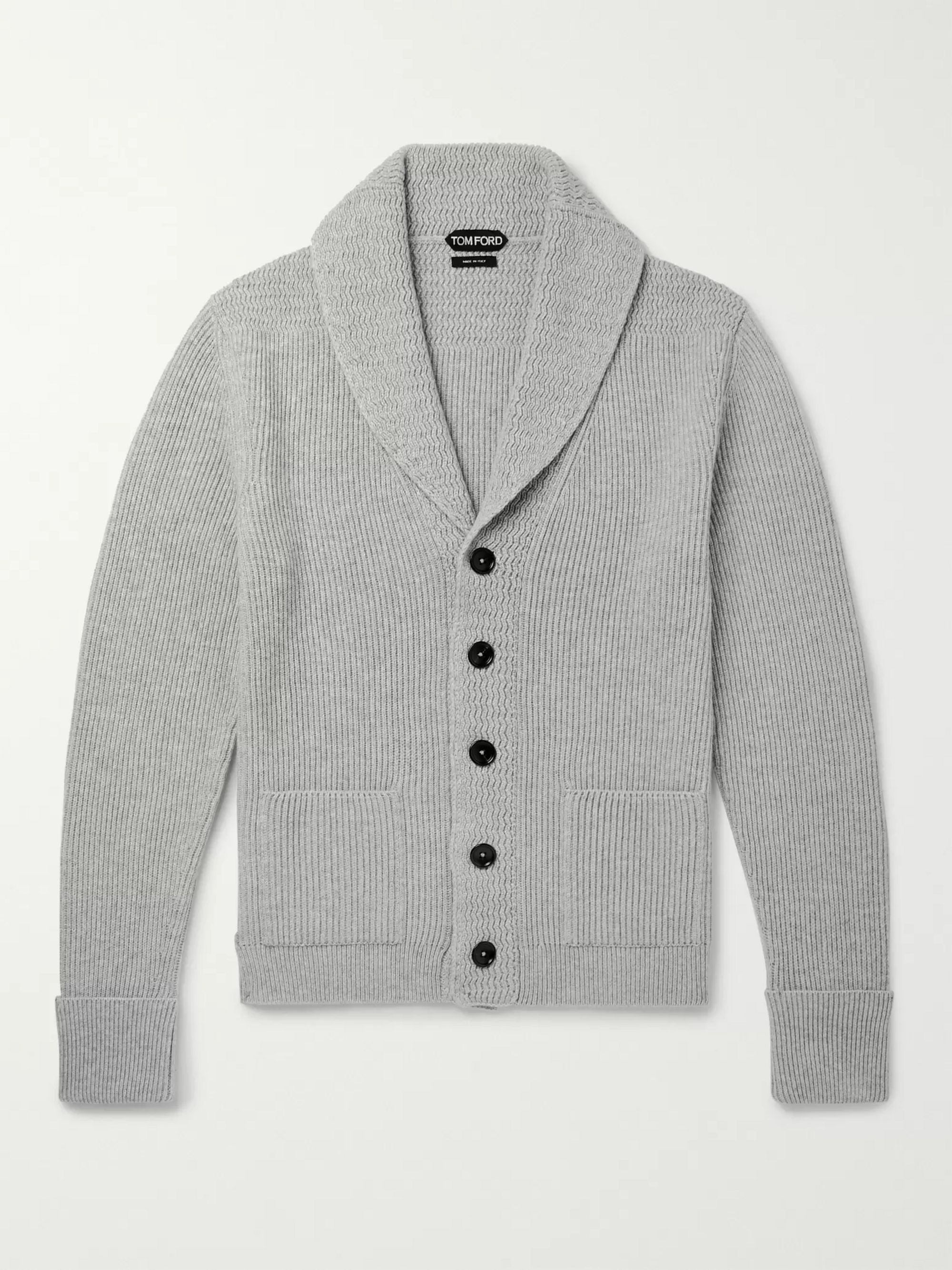 Off White Pure Cashmere Cardigan