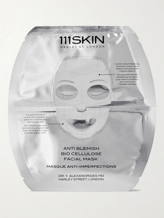 111SKIN Anti Blemish Bio Cellulose Facial Mask 5 x 25ml