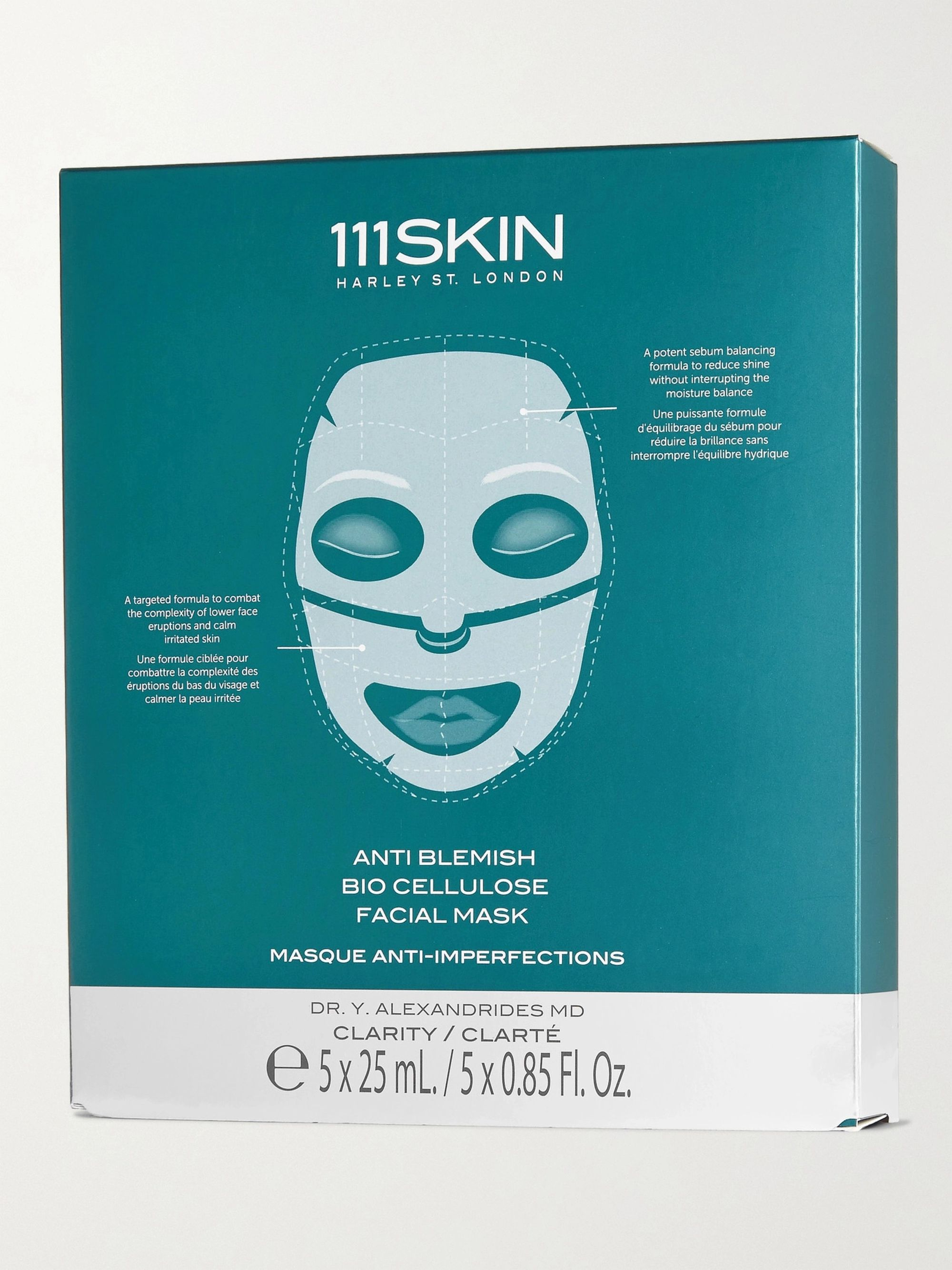 111SKIN Anti Blemish Bio Cellulose Facial Mask x 5