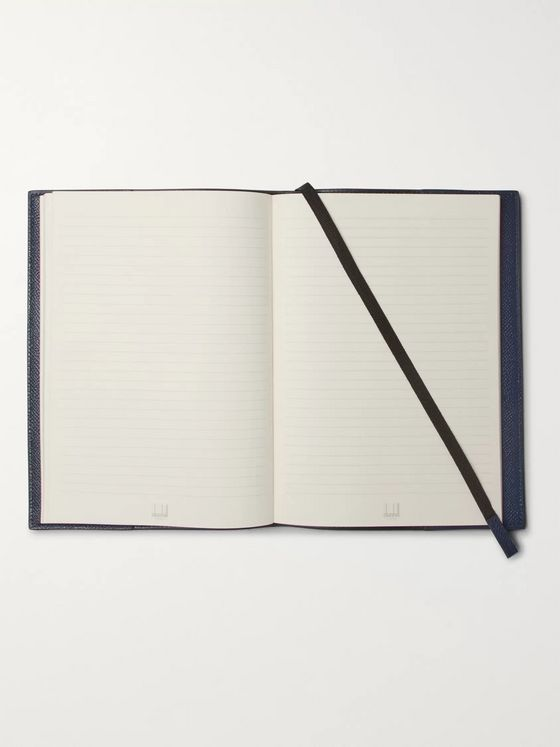 Dunhill Cadogan Full-Grain Leather Notebook