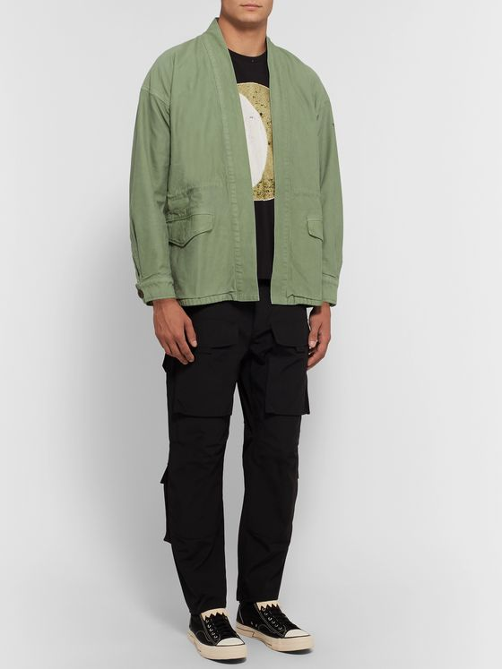 visvim Sanjuro Printed Cotton Jacket