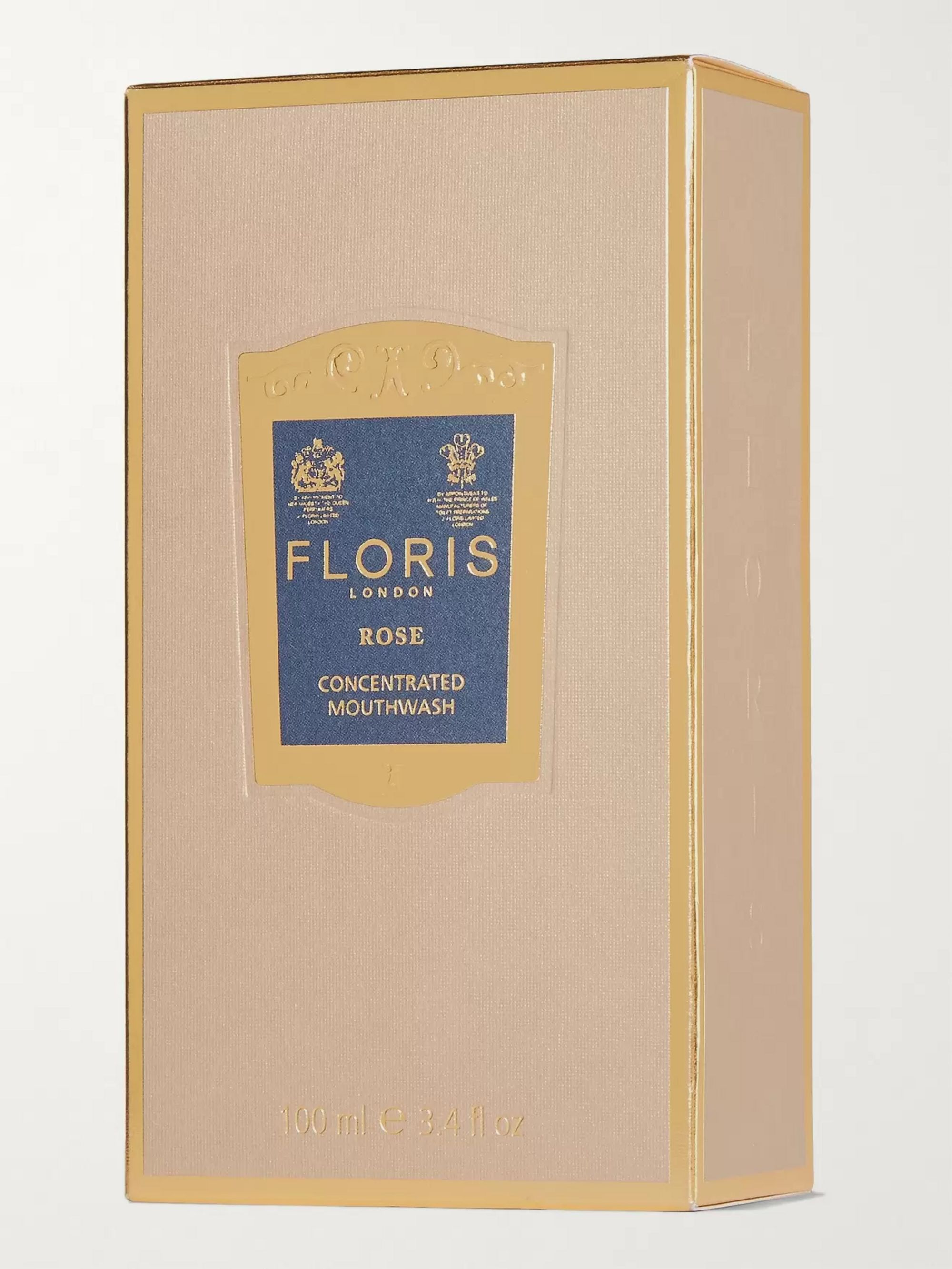 Floris London Rose Concentrated Mouthwash, 100ml