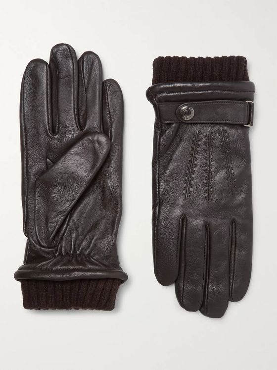 DENTS Henley Touchscreen Leather Gloves