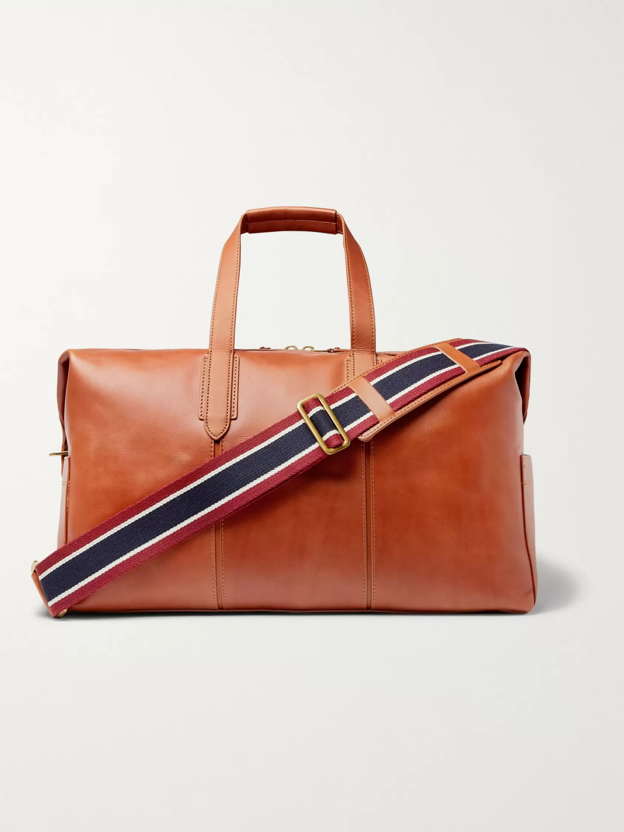 J.Crew Leather Holdall