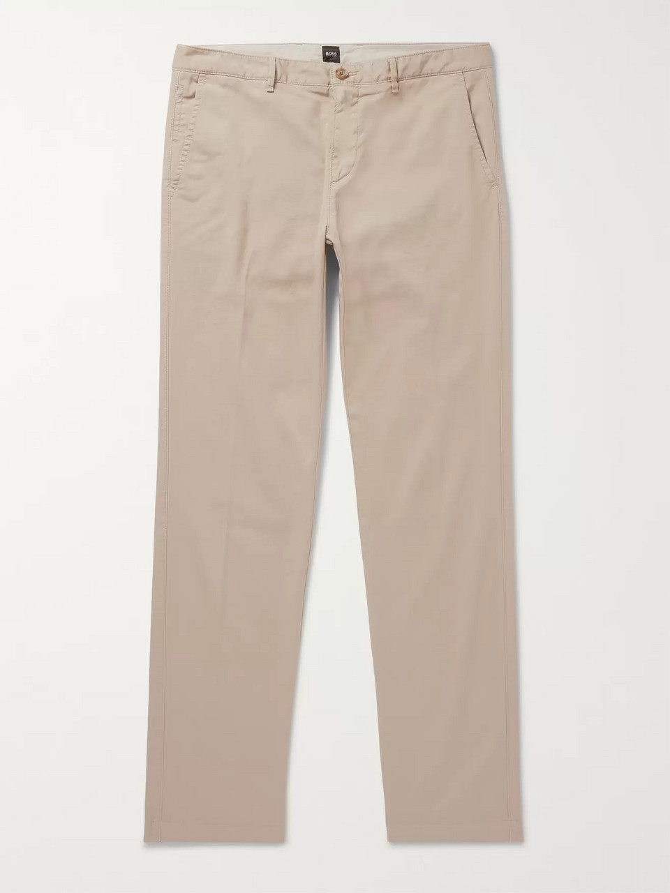 Hugo Boss Crigan Slim-Fit Stretch-Cotton Twill Chinos