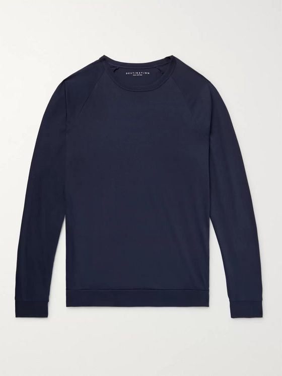 J.Crew Destination Pima Cotton-Jersey T-Shirt