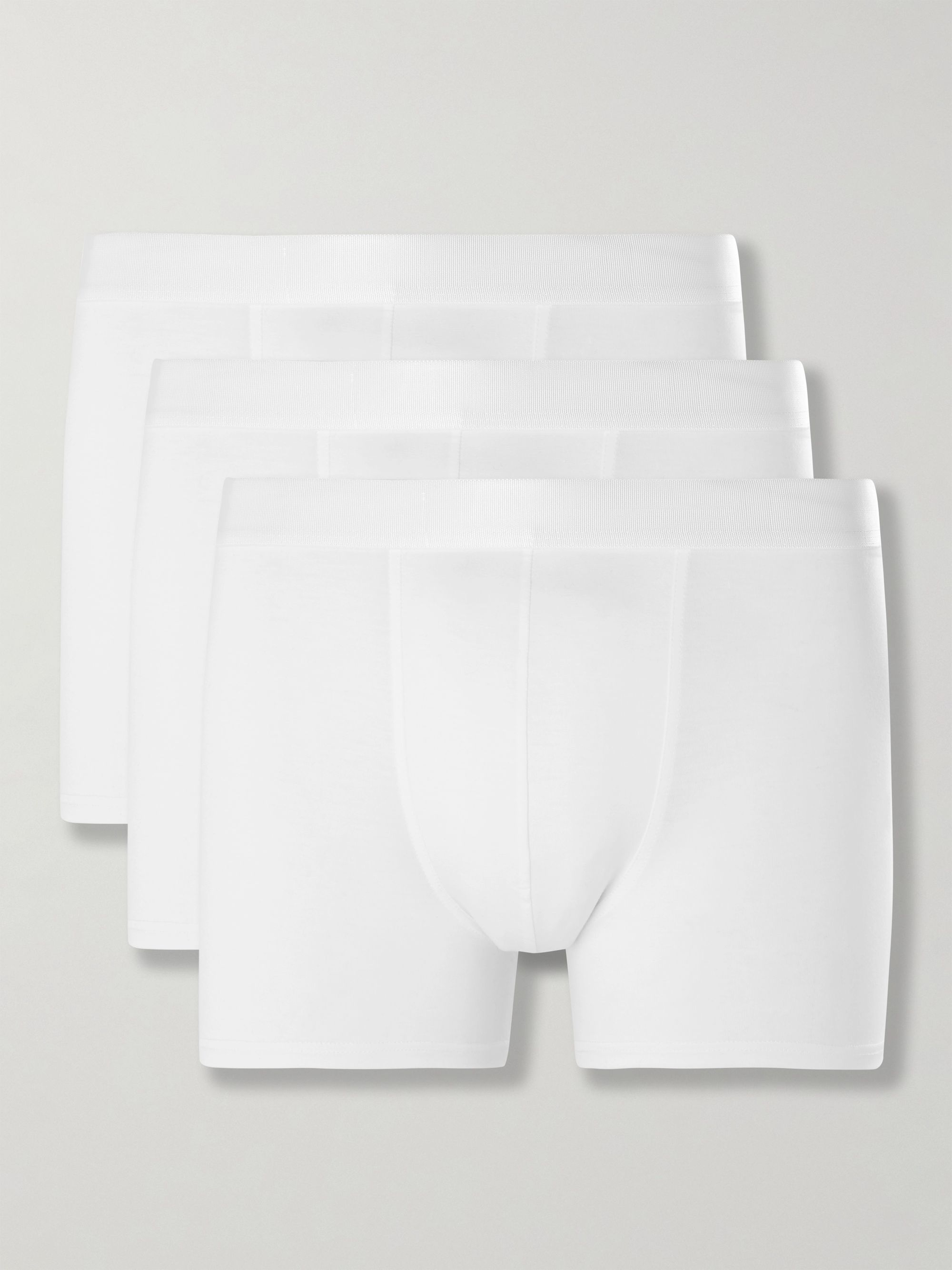 CDLP Three-Pack Stretch-Lyocell Boxer Briefs