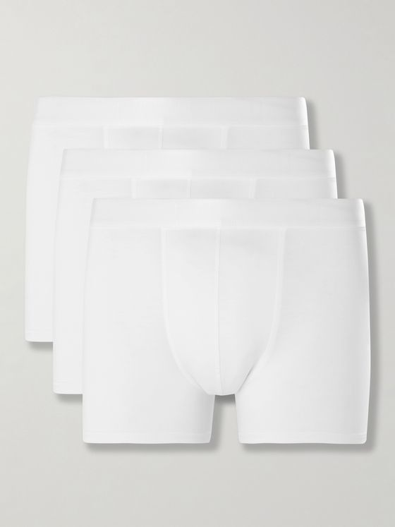 CDLP Three-Pack Stretch-Lyocell Jersey Boxer Briefs