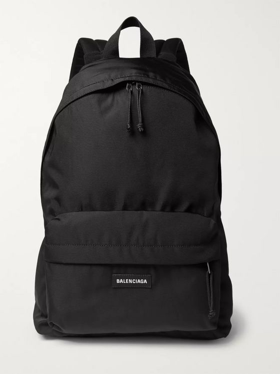 Balenciaga Explorer Logo-Detailed Canvas Backpack