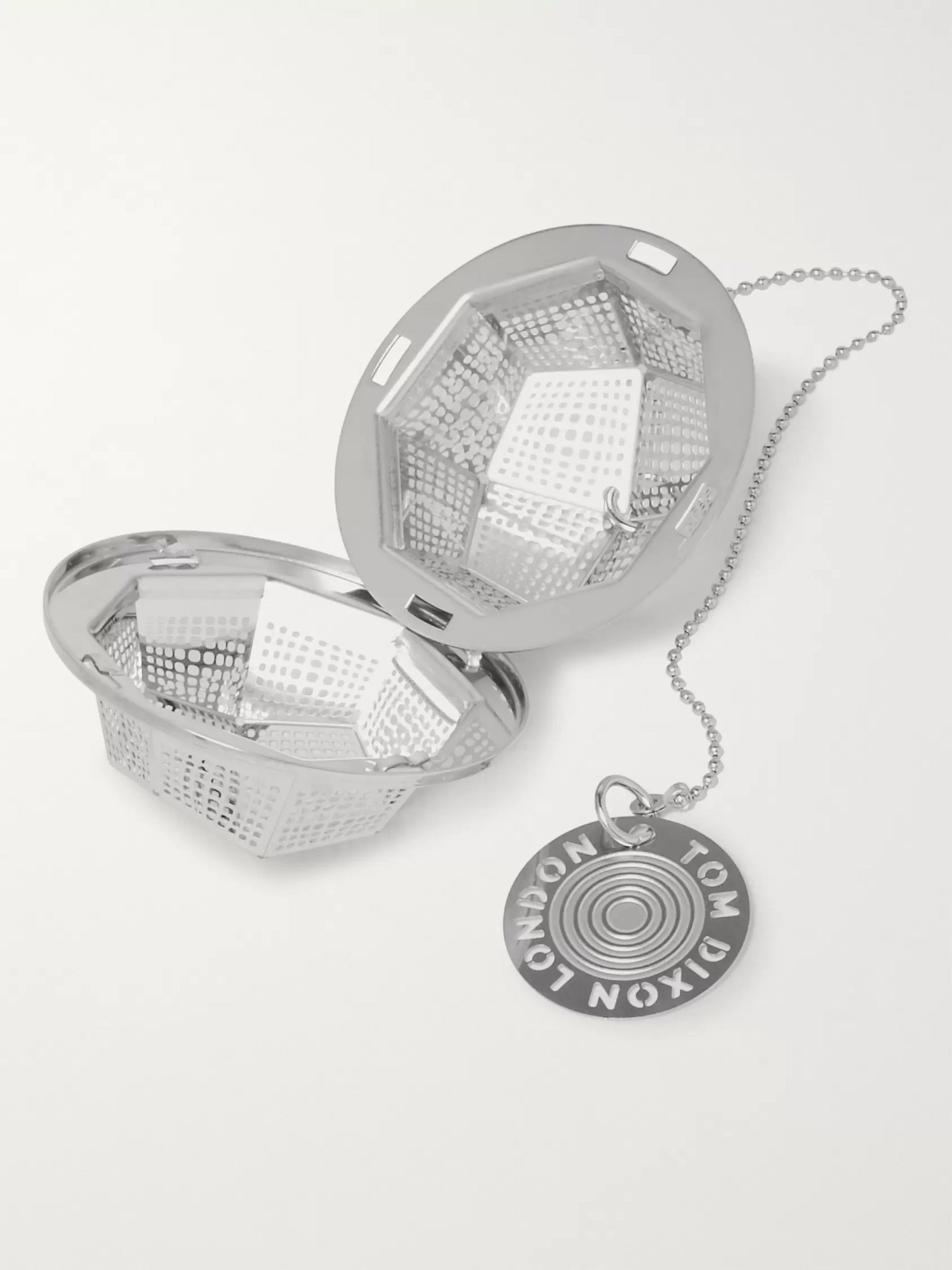 Tom Dixon Etch The Clipper Stainless Steel Tea Strainer