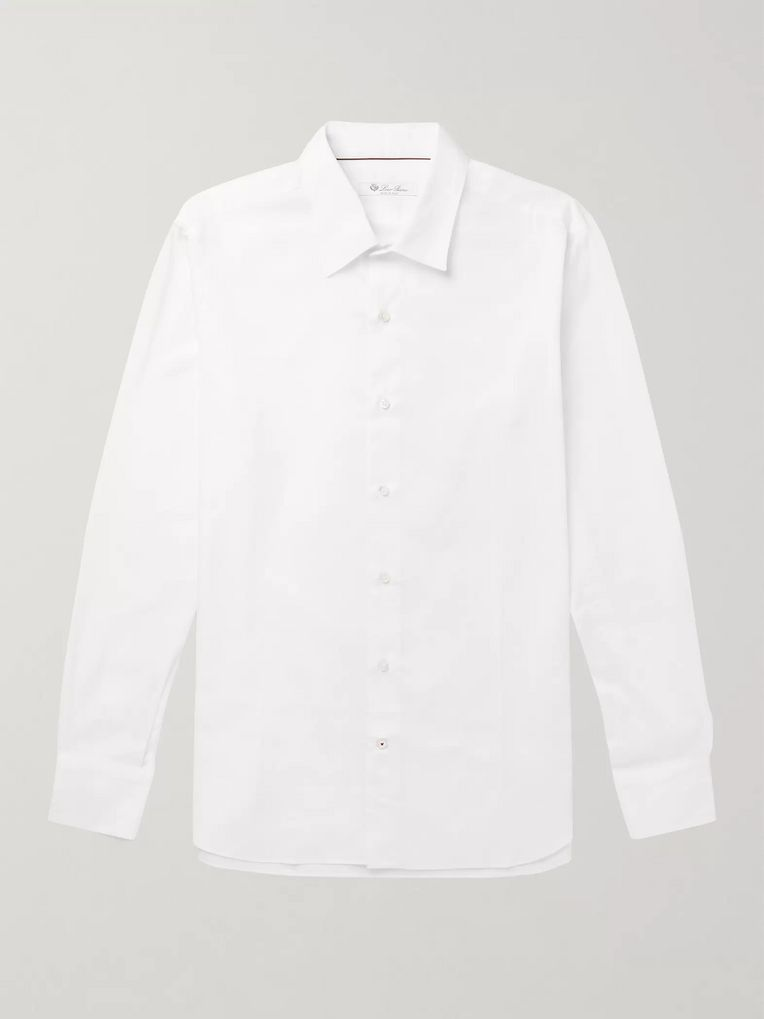 Loro Piana Arthur Slim-Fit Cotton Oxford Shirt