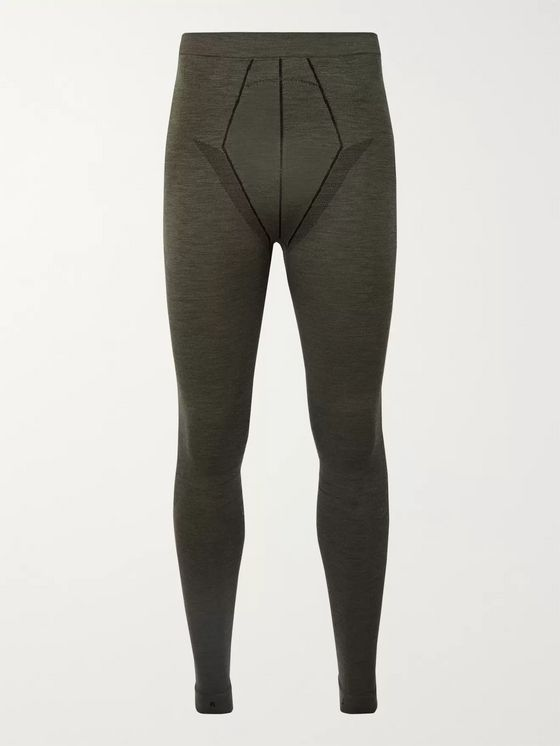 FALKE Ergonomic Sport System Stretch Virgin Wool-Blend Thermal Ski Tights