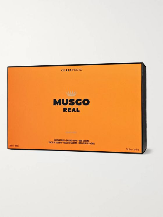 Claus Porto Musgo Real Orange Amber Gift Set