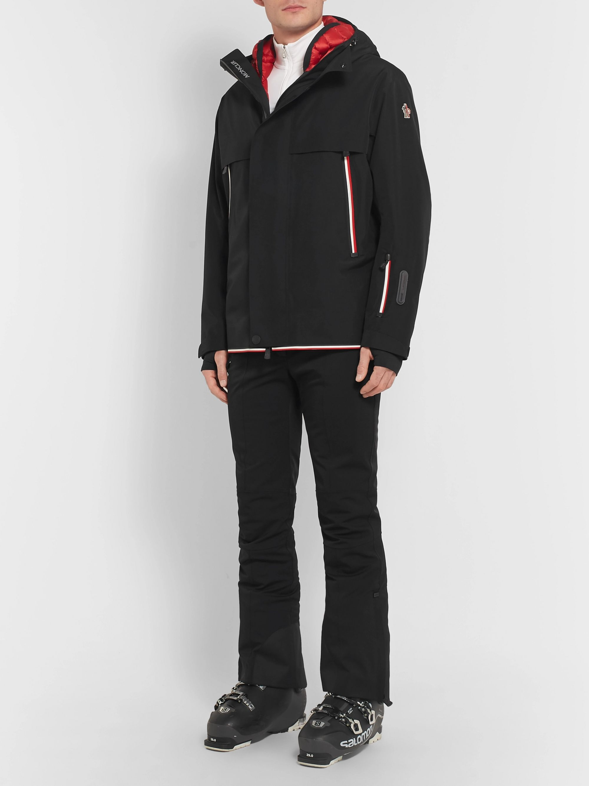 the latest 721f8 2a7fc Miller Stretch-Twill Hooded Down Ski Jacket