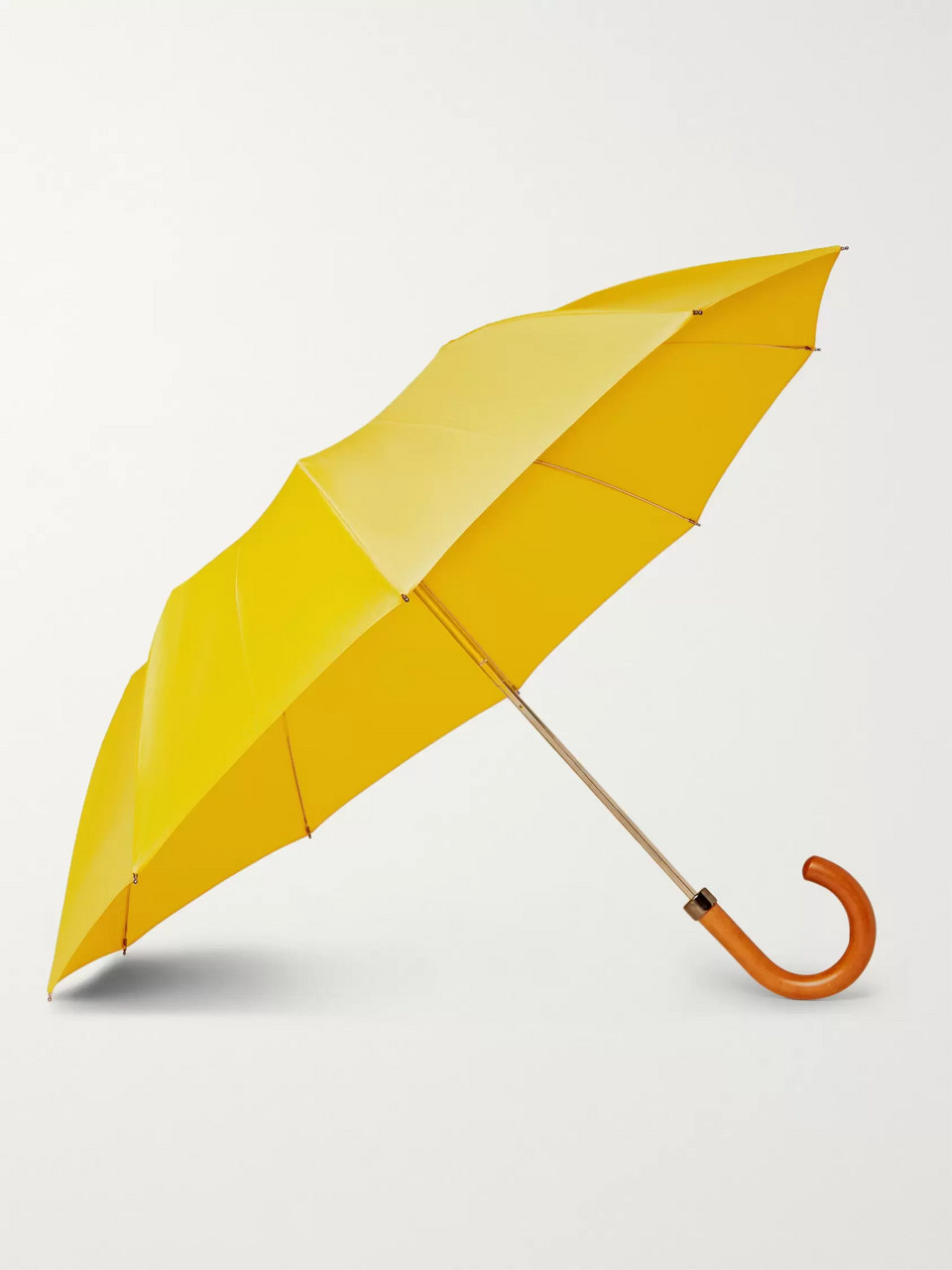 London Undercover Maple Wood-Handle Umbrella