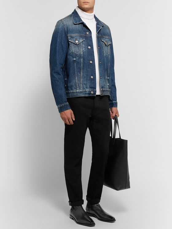 SALLE PRIVÉE Zach Selvedge Denim Jacket