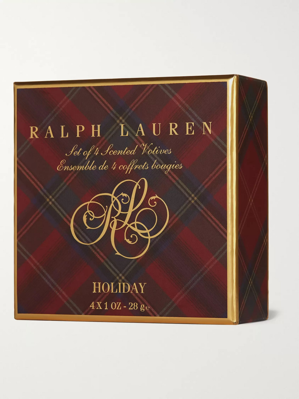 Ralph Lauren Home Holiday Votive Scented Candle Set, 4 x 28g