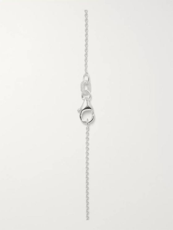 Le Gramme Medallion Variation Sterling Silver Necklace