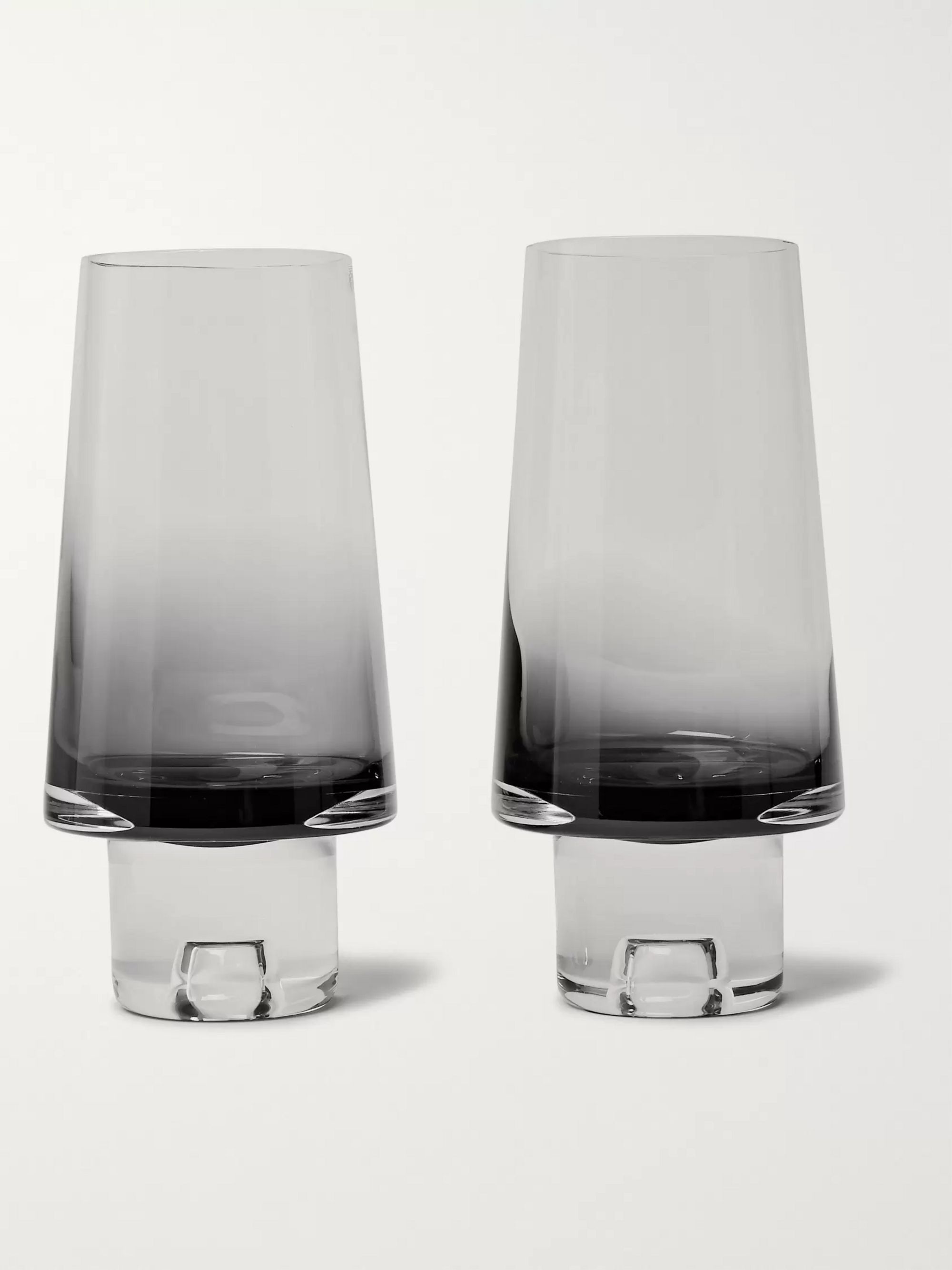 Tom Dixon Tank Set of Two Dégradé High Ball Glasses