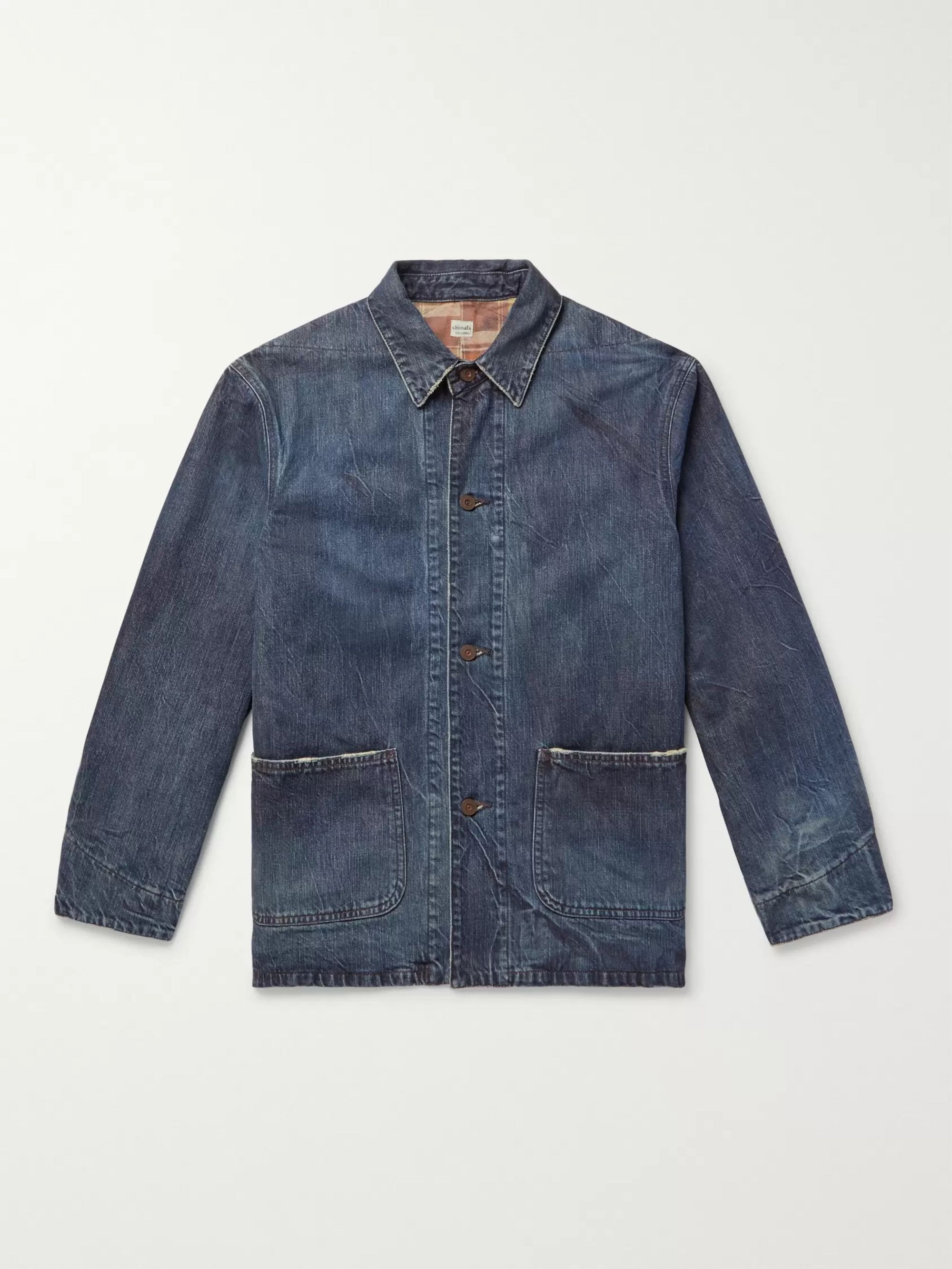 Blue J.CREW Denim Coats & Jackets for Men for Sale | Shop