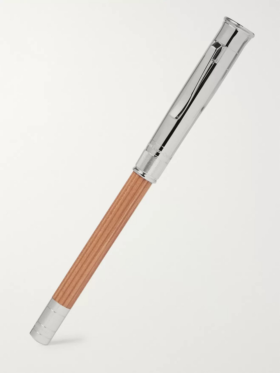 Graf von Faber-Castell Magnum Perfect Platinum-Plated Cedar Pencil