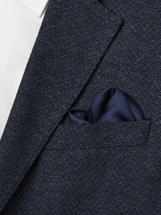 Lanvin Silk-Twill Pocket Square