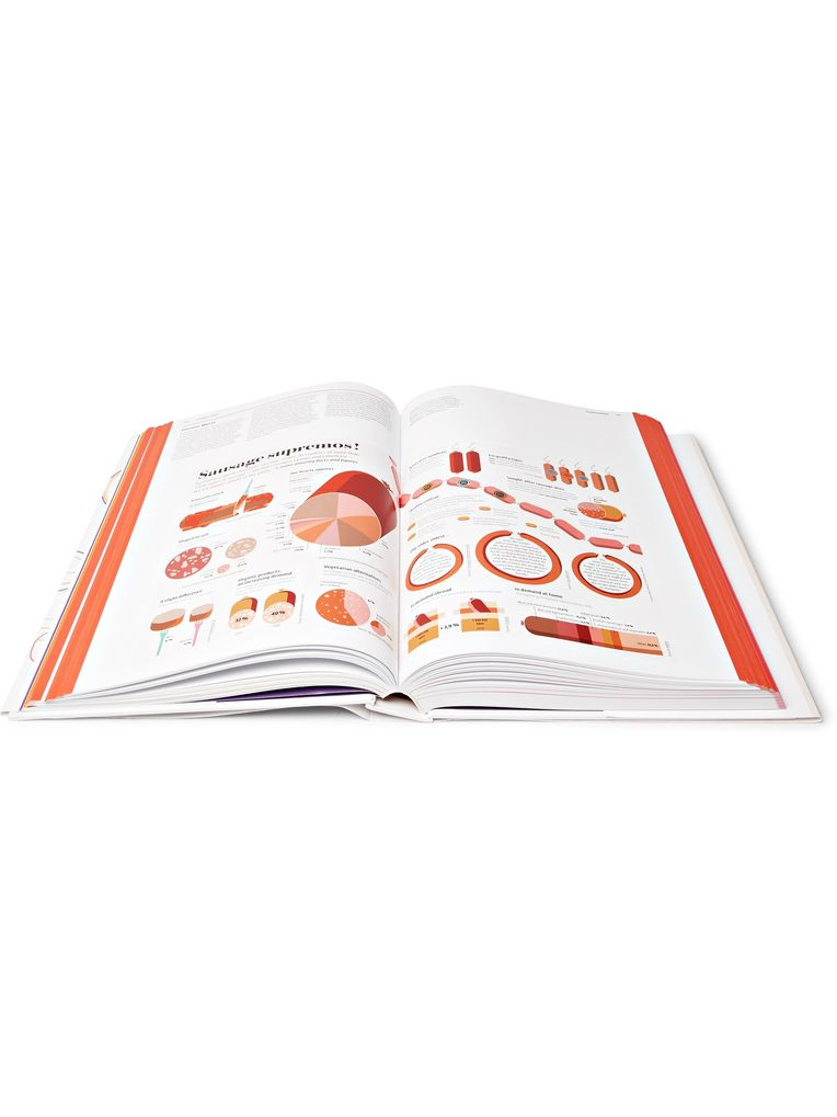 Taschen Food and Drink Infographics: A Visual Guide to Culinary Pleasures Hardcover Book