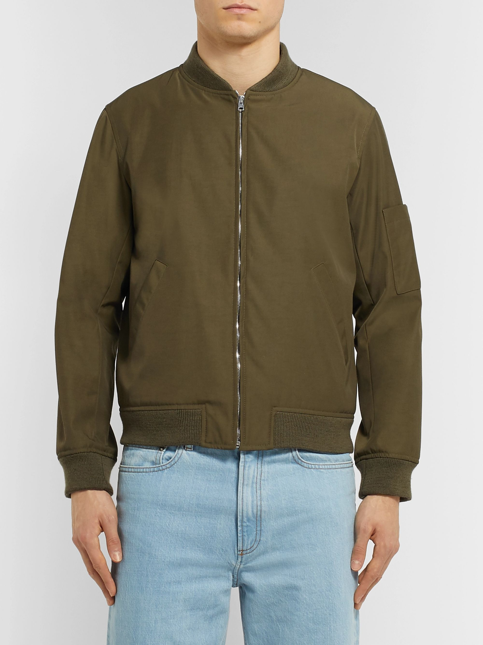 A.P.C. Gaston Shell Bomber Jacket
