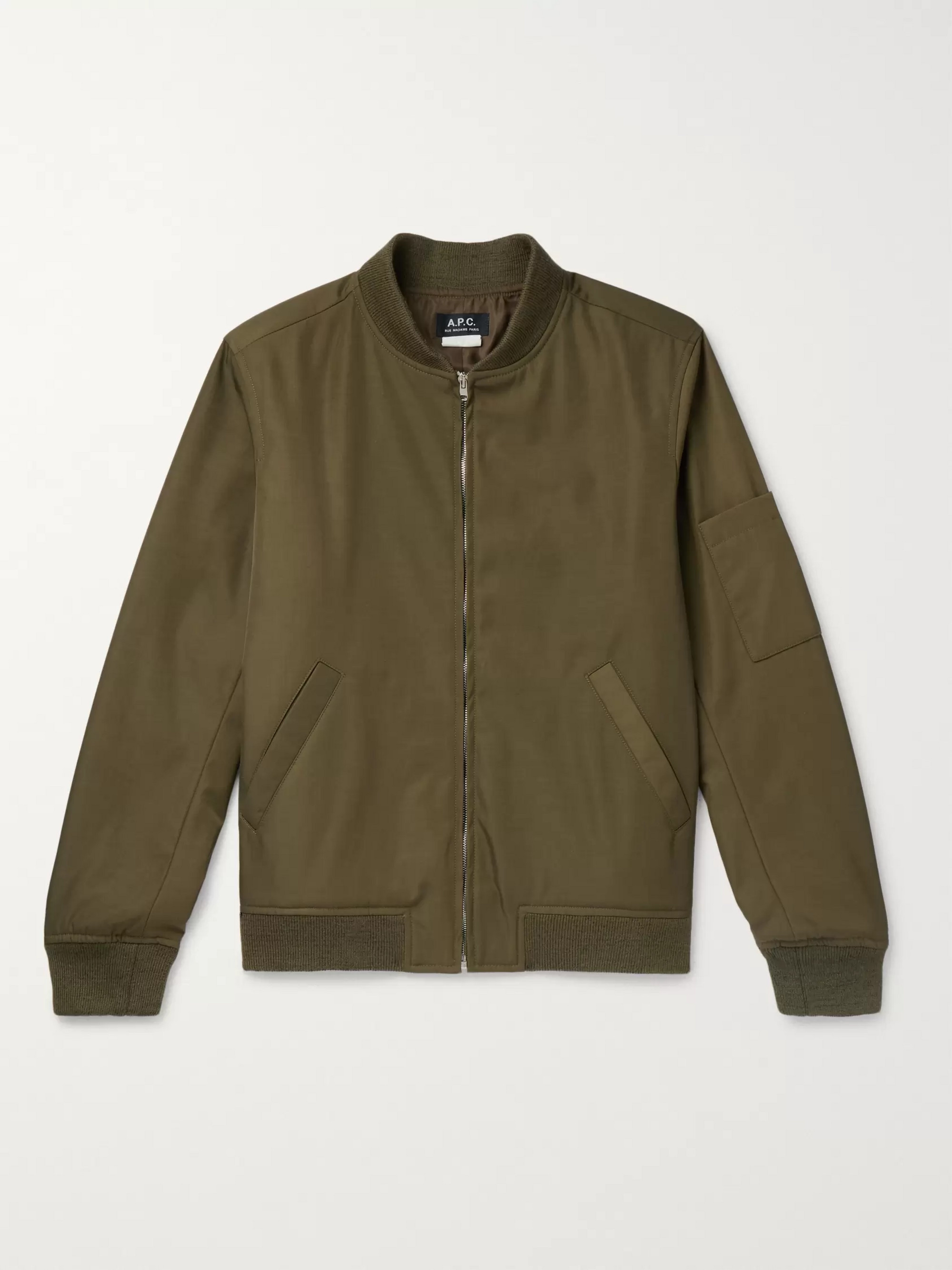 Gaston Shell Bomber Jacket by Mr Porter