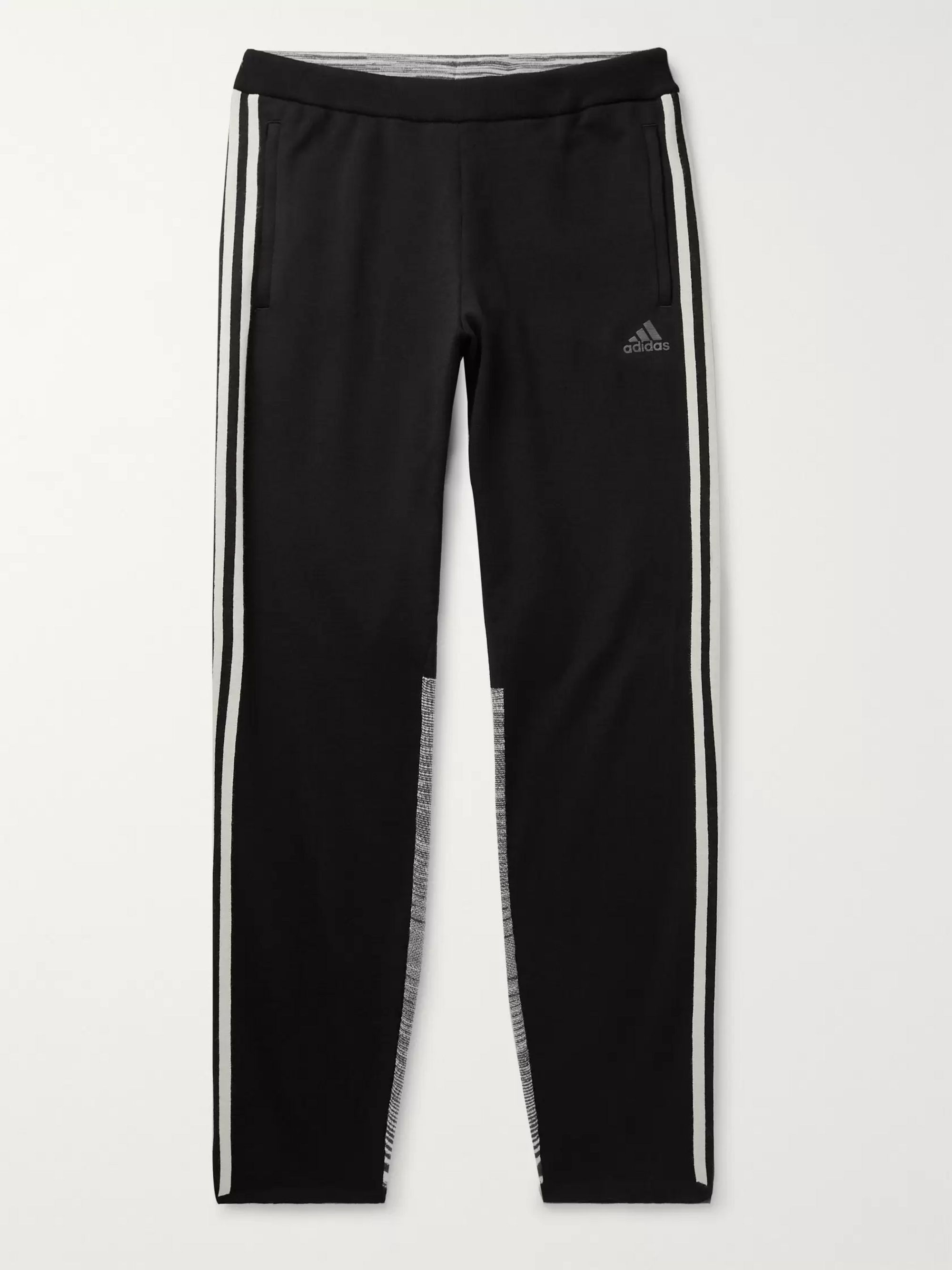 adidas Consortium + Missoni Tech-Jersey and Space-Dyed Stretch-Knit Sweatpants