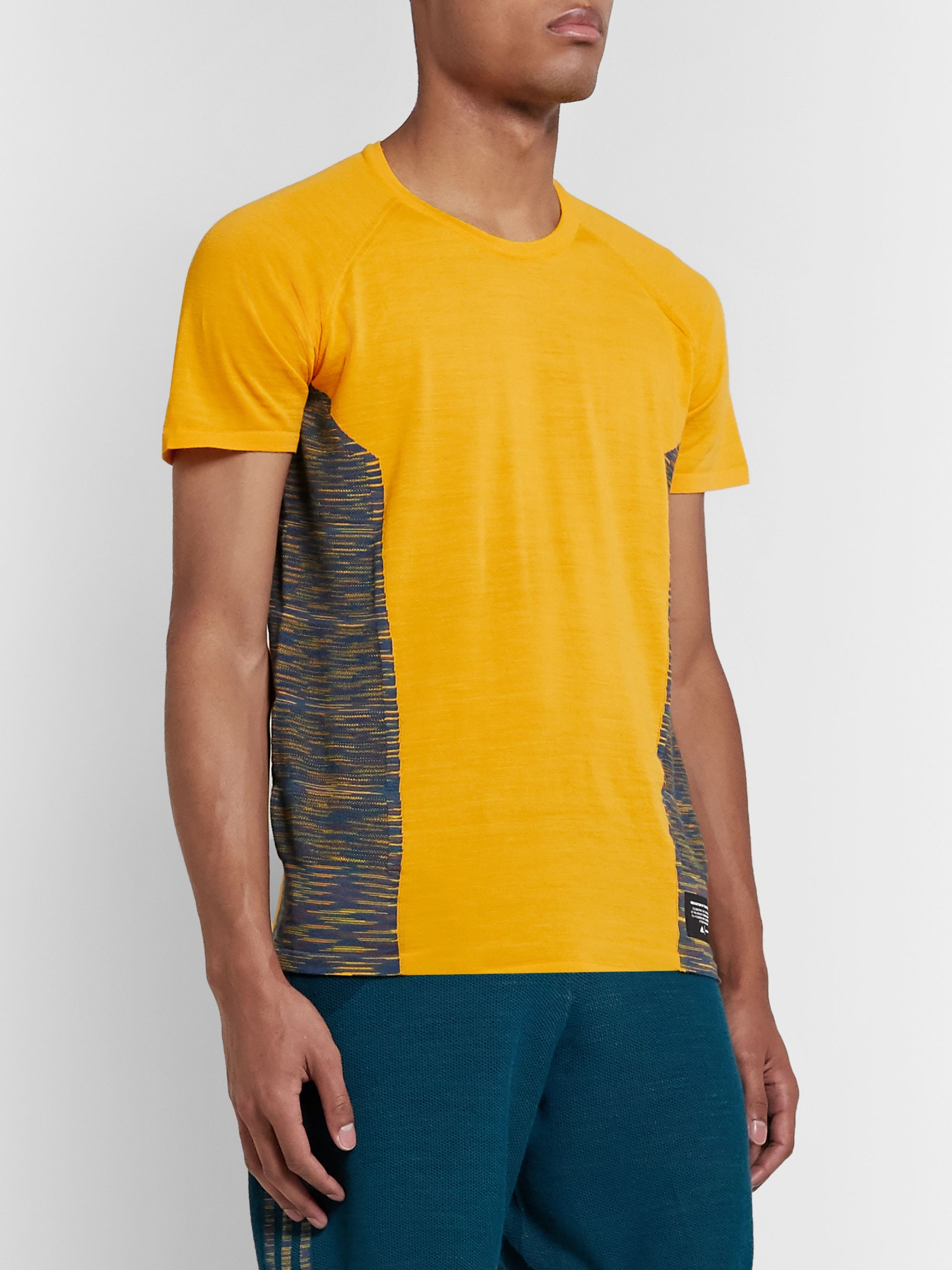 adidas Consortium + Missoni Space-Dyed Stretch-Knit T-Shirt